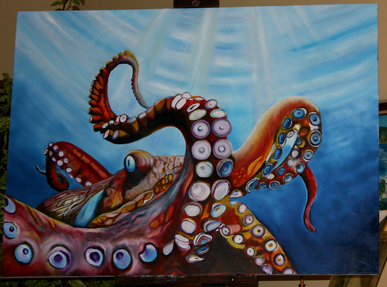 Portrait Of An Artist 187 Octopus